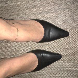 Salvatore Ferragamo Shoes - Ferragamo Black sling back 9.5